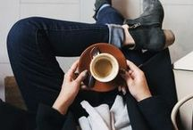 c a f e...    s t y l e / There is a certain style you should have when you sit at cafes sipping coffee ...after all the world is watching...