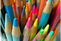 colored pencils info / by Yelena Shabrova