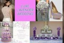 Luxe Lavender Wedding / Pretty in purple, lovely in lavender! / by Impression Bridal