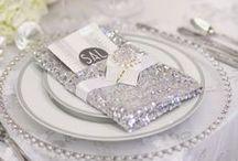 Silver Swirls Wedding / Grey wedding inspiration / by Impression Bridal