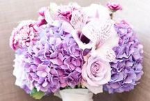 Pink and Purple Wedding Inspiration / A pretty, feminine color palette