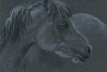 "ATC and ACEO - original drawings - Yelena Shabrova / My artist trading cards (ATC), 3.5"" x 2.5"" / by Yelena Shabrova"