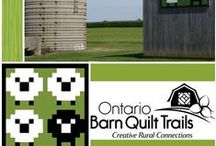 Ontario Barn Quilt Trails / Locating Barn Quilt Trails for you