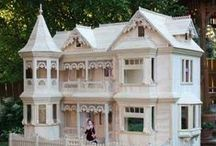 Let's Play House ! / My love of homes started when I was a child...a friend Esther had the most fabulous doll house ....one day I will have my own.... / by Annie Guthrie