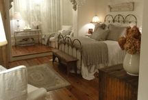 Dreamy Dreams / So many appealing places to create dreams...from romantic shabby chic to sleek loft style ...guest rooms ...baby rooms...to Master ...  / by Annie Guthrie