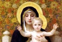 BLESSED MOTHER / Our lady who loves us....in all her grace and beauty / by Annie Guthrie