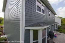 James Hardie Siding / Opal Enterprises proudly installs Premium, Beautiful James Hardie Fiber Cement Siding. This board represents some of the projects we have done installing siding in the western & southwestern suburbs of Chicago. https://www.opalenterprises.net