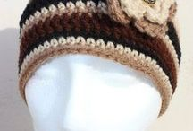 Crochet---- Hats , Scarves, and Gloves