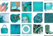 turquoise and aquamarina / all stuff turquoise and aquamarina and cobalt blue greenish blue, peacock blue... / by Elisa Galante