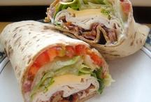 Sandwiches & Wraps / by Maggie LeFleur