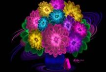 Bright colors / by Teri Ives