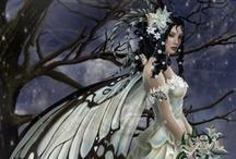 Fantasy,Fairies, Enchanted living / by Teri Ives