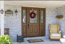 Entry Doors / Front Entry Doors installed by Opal Enterprises! Doors by ProVia and ThermaTru. Opal Enterprises replaces and installs doors in the Naperville, IL area and surrounding Western & Southwestern Suburbs of Chicago.