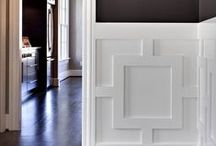 Moldings, Shelves, and Trim / Instructions, How-Tos, and Inspiration for crown molding, wainscoting, bookshelves, trim, and more  / by Rachael Nichol