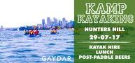 G4P Kamp Kayaking / Join our monthly adventures exploring the waterways & hidden river systems that are in abundance in this beautiful city we call home. We have long & short paddles, limited single kayaks as well as doubles with the same fun & games we always have