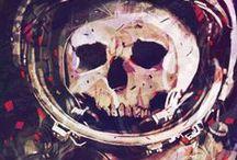 Skulls as cool as funky