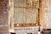 Magical Window Lighting Ideas! / Bring on the fairy tale with fantastic year round lighting. Brighten up windows for all-year enjoyment inside and outside the home. Boost curb appeal and cozy up the interior!