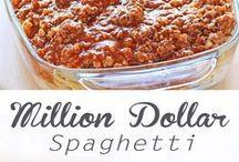 Pasta Recipes / Recipes for pasta dishes