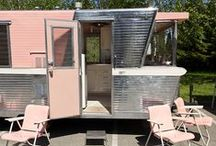 Glamping / Vintage trailer & glamorous camp set up ideas, and gear