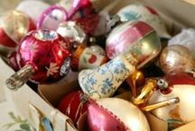 Vintage Christmas / Vintage Christmas decorating, ornaments, cards & wrapping