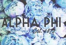 Alpha Phi / by Karla Kohel