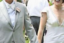 Gray Wedding Suits and Tuxes for Women / hot options especially for lesbian brides