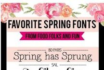 My Fonts / by Kathy Parsons