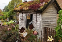 GARDEN SHEDS  / by ~SHELLEY BREWER~