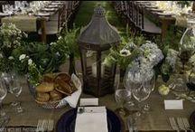 Preppy + Vintage + Rustic / a preppy garden party gay wedding in Provincetown
