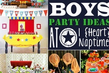 ~ Parties For Boys ~ / by Marsha Carr
