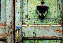 Windows & Doors / I love architectural salvage, windows, and doors.
