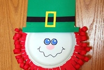 St. Patricks Day Crafts for the Babies / by Barb Moore-Brinker