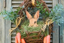Easter Decorations  / by Barb Moore-Brinker