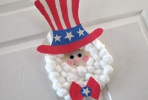 Patriotic Crafts for the Babies / by Barb Moore-Brinker