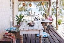Porches & Sun Rooms / Relax and soak in the sun in your sun room or porch. Not to exclude patios, balconies, and outdoor spaces.