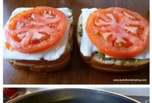 Recipes Sandwiches  / by Kathy Parsons