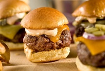 Burgers & Sliders / by Michelle's Tasty Creations