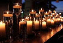 Candle decor / everything's beautiful in candlelight