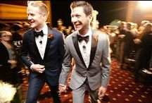 Gay Wedding Fashion / What the boys are wearing to their fabulous gay weddings