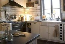 Kitchens & Dining Rooms / Islands, and Tiles, and Sinks, oh my!
