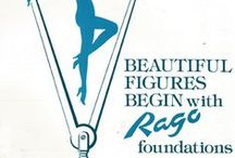 Vintage Rago / Rago Shapewear and Advertising from the Past / by Rago Shapewear