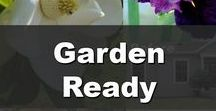 Garden Ready / See tips, tricks, and Inspiration to get your landscaping and gardening how you want it.  These are great tips for those who are considering Selling their home, to add more Curb Appeal.  Click here to see more to sell your home, www.SellWithWayne.com