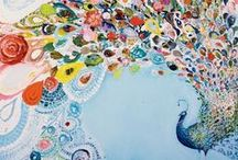 Art Projects / Drawing, paining, wall art ideas and inspiration