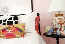 Be Our Guest / #guest #bedroom #eclectic #colorful / by Jill Iverson