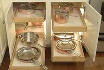 DK Cabinet Storage Ideas / by Kathy Parsons