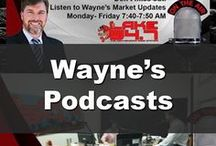 Wayne's Podcasts / Listen in to Wayne's Podcasts some from the Lake 94.7 and more.  Wayne is syndicated on Apple Podcasts as well as Podbean.  Interested in selling your North Shore Property? Call Now 985-626-1313 or visit SellWithWayne.com