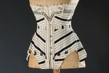Historic Corsets / Antique, historic stays and corsets, corset busks, and a bit on historic construction techniques. Also check out my modern corsetry board! / by Jane Burson
