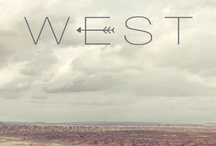 West / by M E L A C I N E M O O N