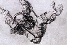 Velazquez , Goya, Caravaggio, Vermeer / by Carlos Leiro