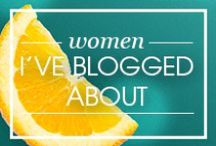Women I've Blogged About
